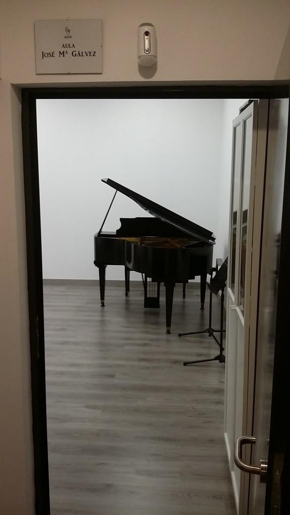 Aula Jose María Gálvez Bravissimo Music Lab